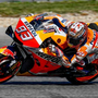 Marquez 2.1 clear on a drying track in FP4
