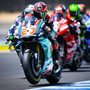 Quartararo leads Marquez at midday