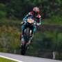 Quartararo claims stunning Sepang pole, Marquez crashes