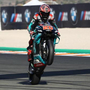 Quartararo denies Marquez the final pole of the season