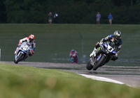 Hayes Tops Hayden in AMA Pro National Guard SuperBike Race One at Barber Motorsports Park